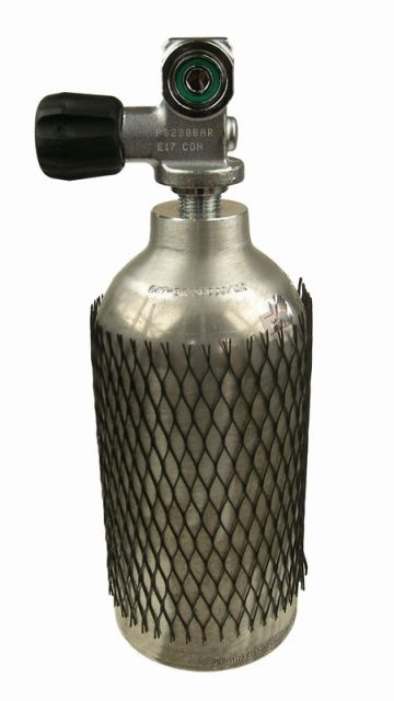 Hliníková lahev 1l s ventilem luxfer