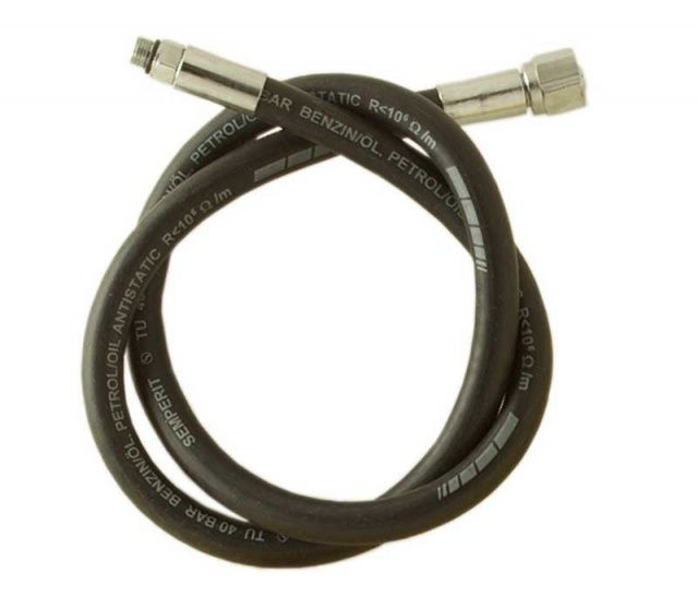 Dlouhá středotlaká hadice k automatice 210 cm z měkkého materiálu. NTEC