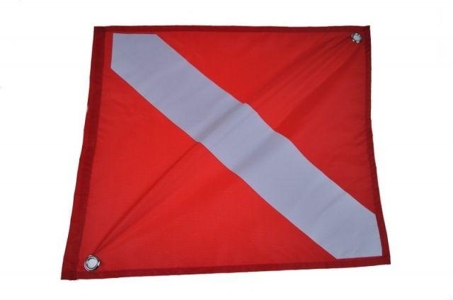 Vlajka potápěčská 46 x 55 cm NTEC
