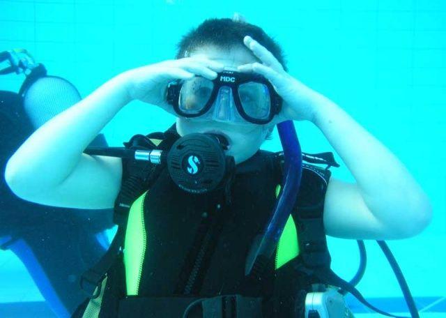 Kurz potápění NAUI JUNIOR SCUBA DIVER