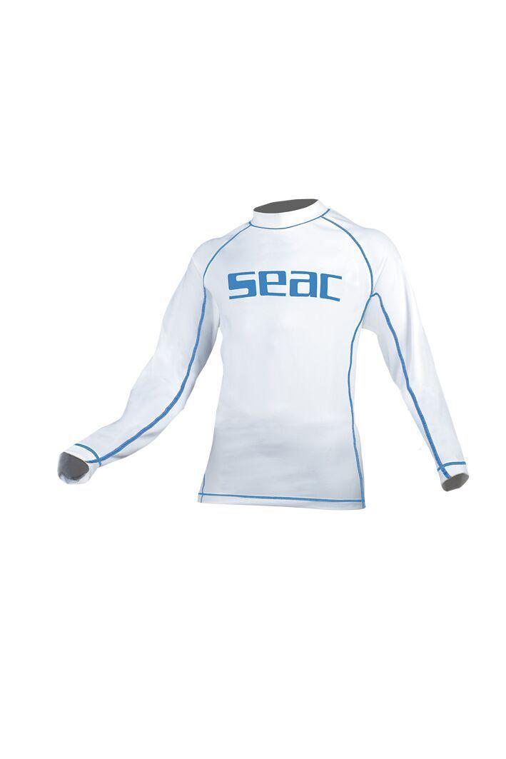 SUNGUARD dětské, rychleschnoucí tričko s dlouhým rukávem a UV filtrem. SEAC SUB
