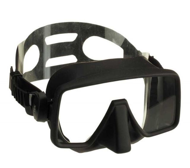 TEK bezrámová maska s krabičkou, nízko objemová maska NTEC